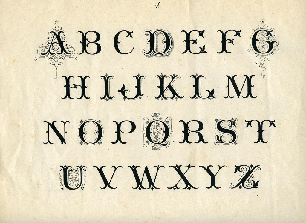 Letterology: Lettering For The Trades