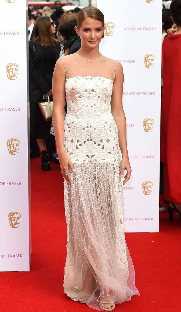 TV BAFTA awards- Best dressed, Millie Mackintosh