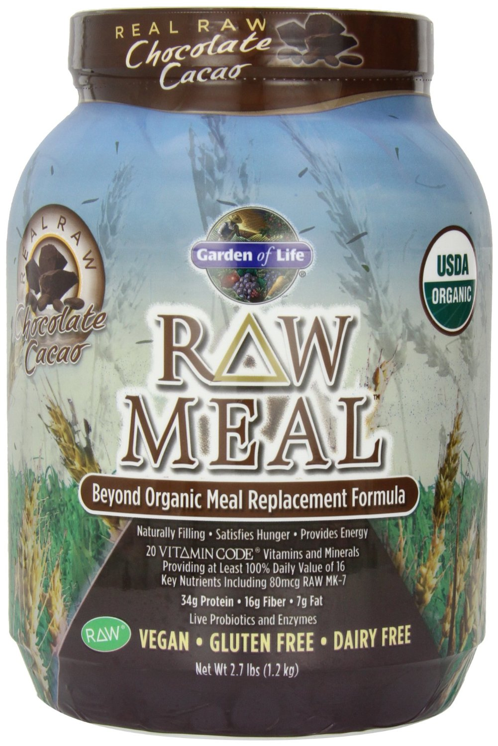 Garden of Life RAW Organic Meal Chocolate