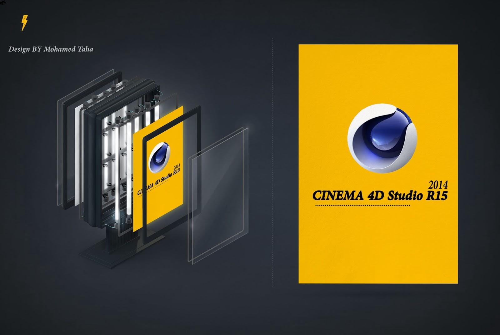 CINEMA.4D.Studio R15 + Serial