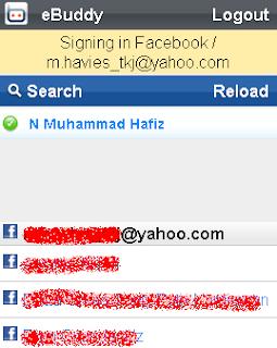 Trik agar Terlihat sedang Online di Facebook via hp dan Chatting via hp
