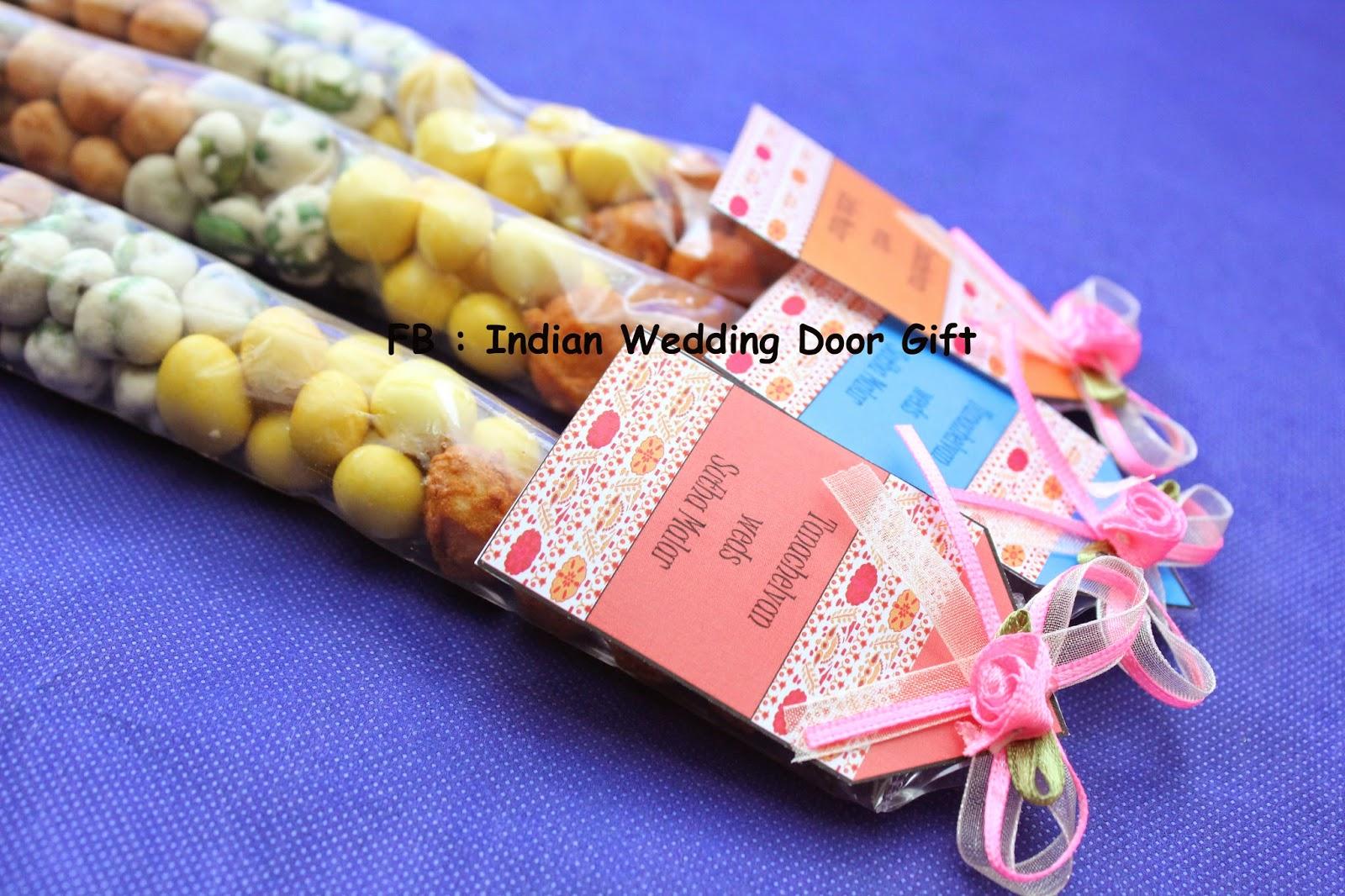 Indian Wedding Door Gift: Mixed Nuts in Packet (Indian Kacang Putih)
