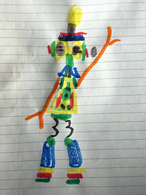 Porter's Robot Drawing