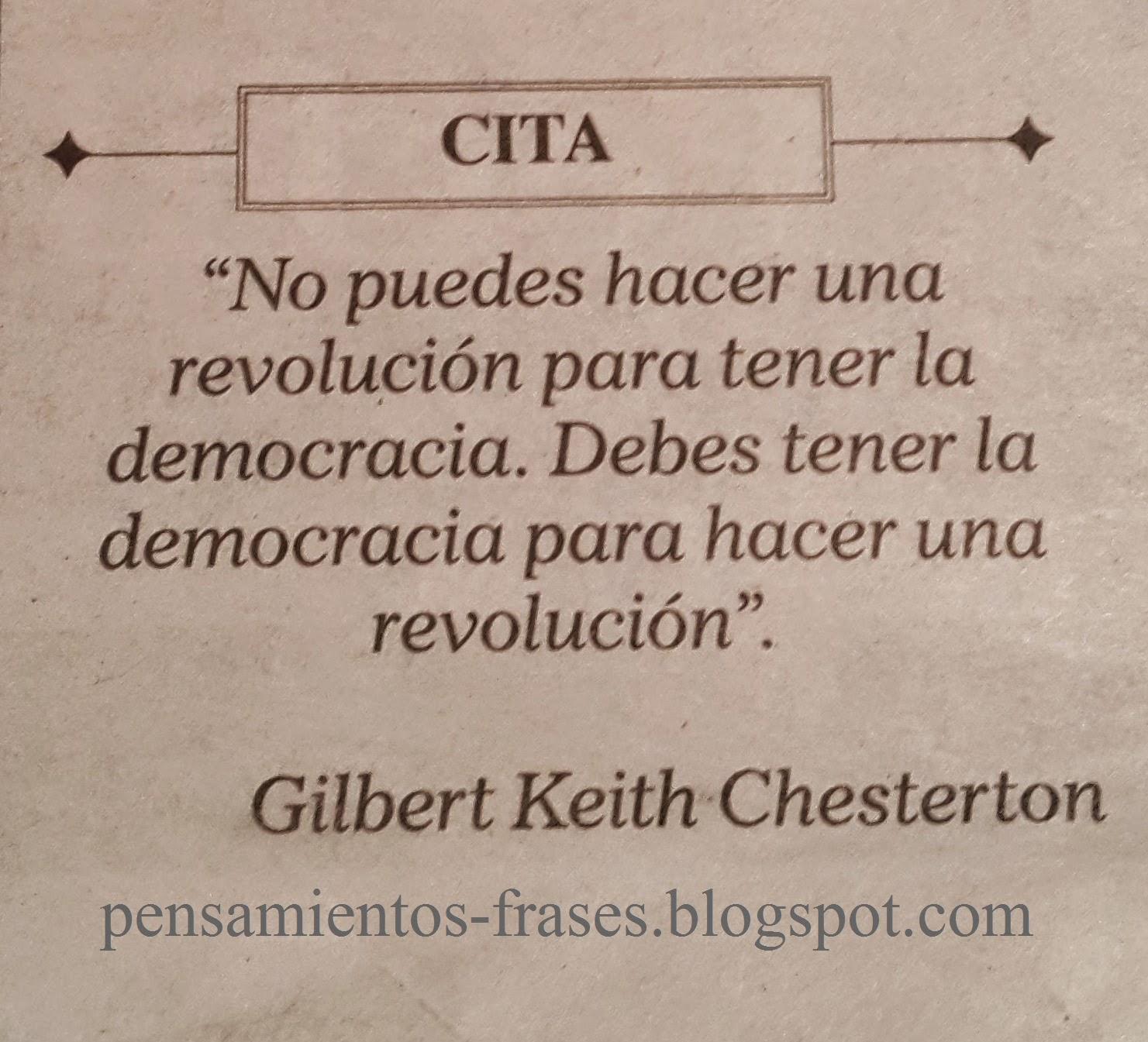 frases de G. K. Chesterton