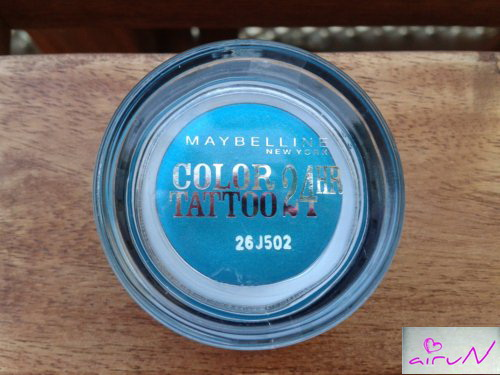 color tatto maybelline turquesa