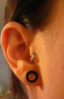 Ear gauges 8mm 06