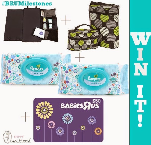 Pampers and Babies R Us Prize Pack and Gift Card Giveaway One Savvy Mom PG Promotion