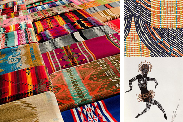 contemporary Aboriginal art, Australian patterns, Aboriginal dotted line art, tribal textiles