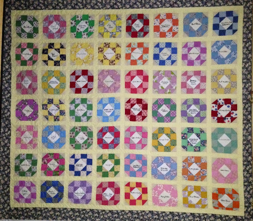 Cynthia Lance Friendship Quilt
