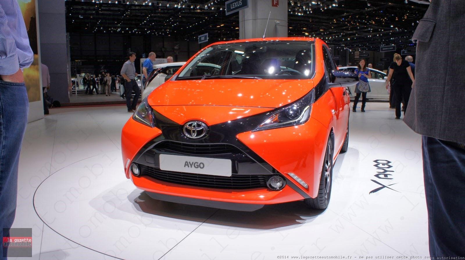 Genève : Toyota Aygo II