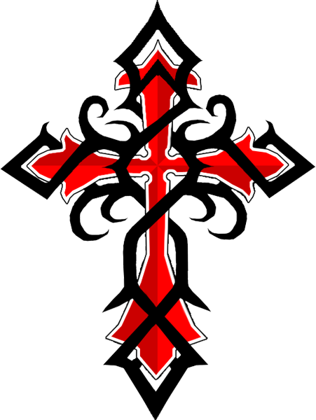 Tribal Cross Tattoo Designs Images amp Pictures Becuo