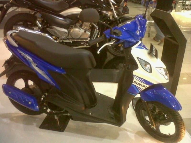 Motor Suzuki Nex FI 2015 Terbaru