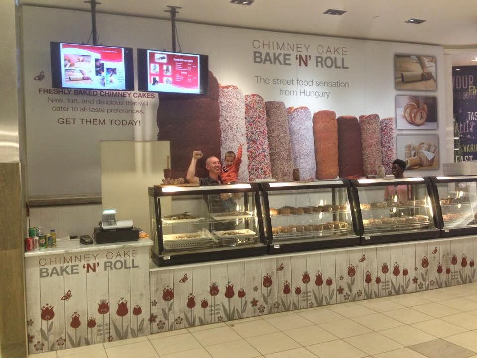Bake N roll Chimney cakes