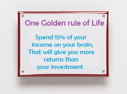 Motivational Quotes : Golden rule of life - Kshitij Yelkar