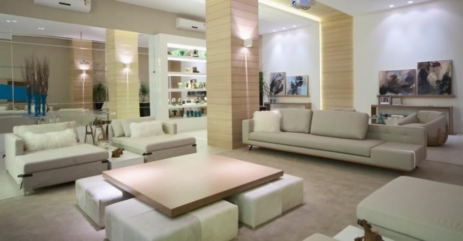 Livings decorados  veja 40 salas de estar de estilos diferentes