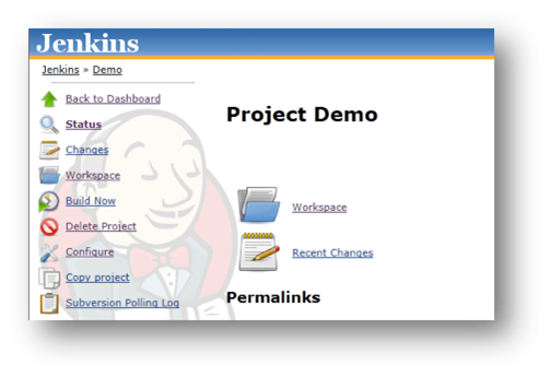 Build Now Option in Jenkins