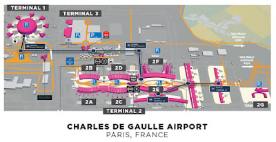Paris Taxi Airport transfer from Charles de Gaulle