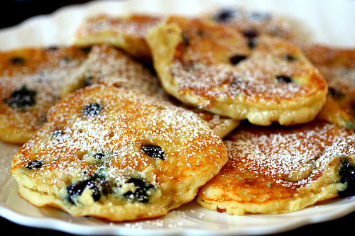 My Favorite Things: Blueberry Pancakes + Pancake 101 from ...
