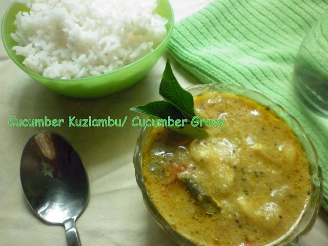 Cucumber Kuzhambu
