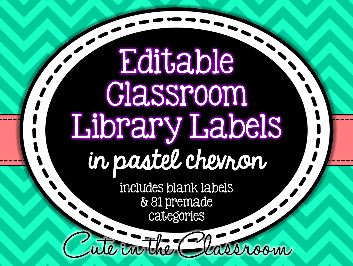 http://www.teacherspayteachers.com/Product/Editable-Classroom-Library-Labels-Pastel-Chevron-1365114