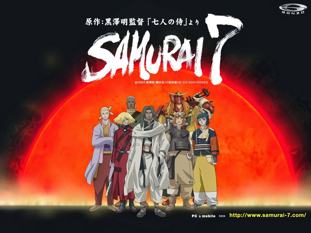 Wallpaper Samurai 7