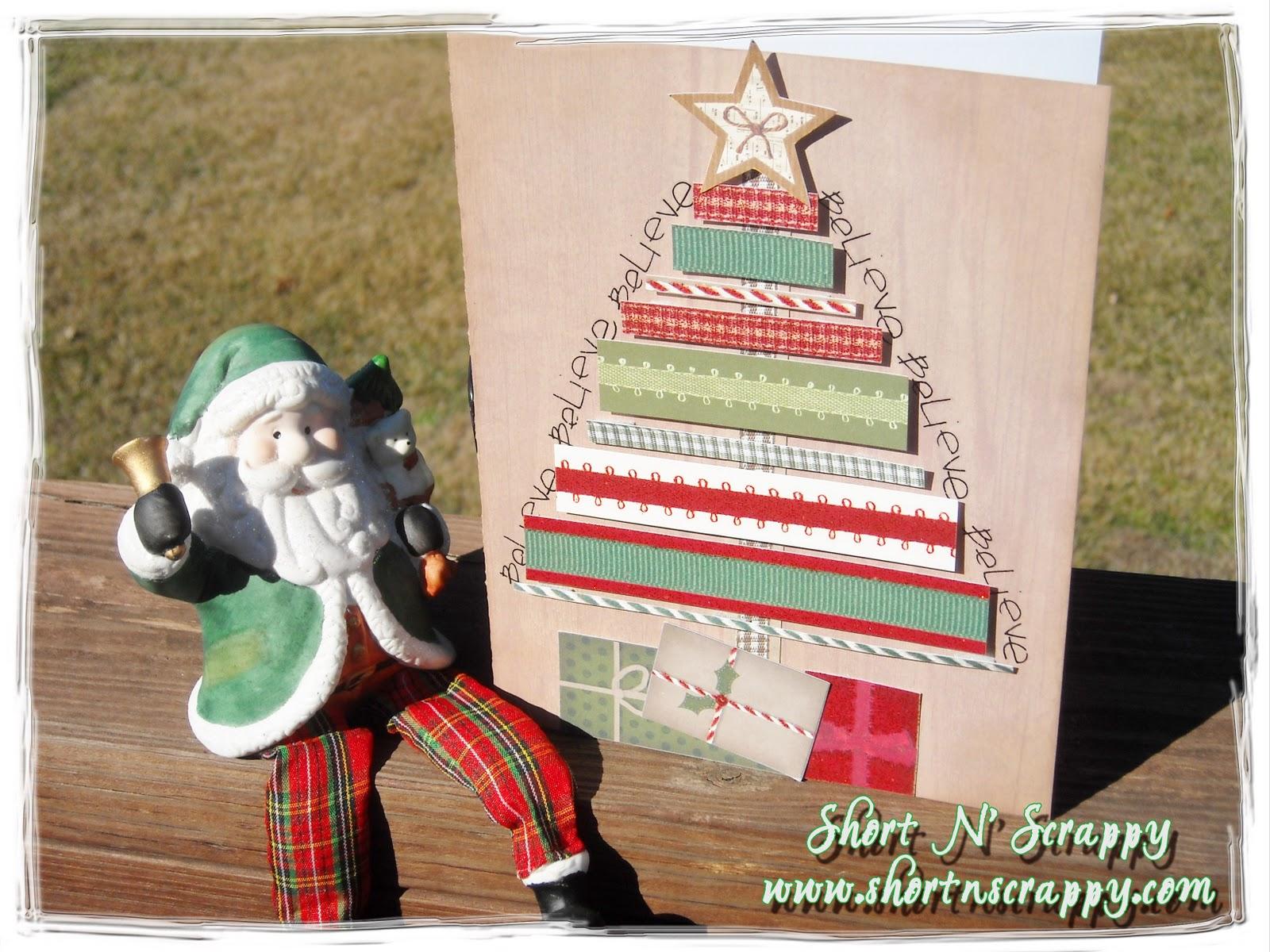 Handmade christmas cards on pinterest party invitations ideas for Christmas card ideas on pinterest