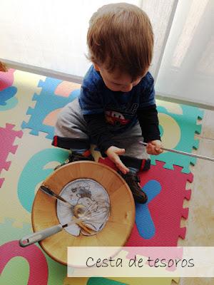 Cesta de tesoros - Montessori