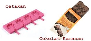alat cetakan cokelat