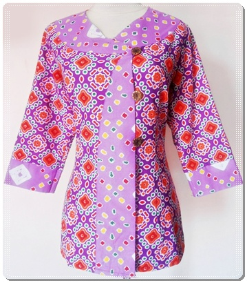 Model baju batik terbaru wanita modern 2013