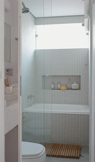 Depósito Santa Mariah Banheiro Pequeno Remodelado! -> Banheiro Pequeno Largura