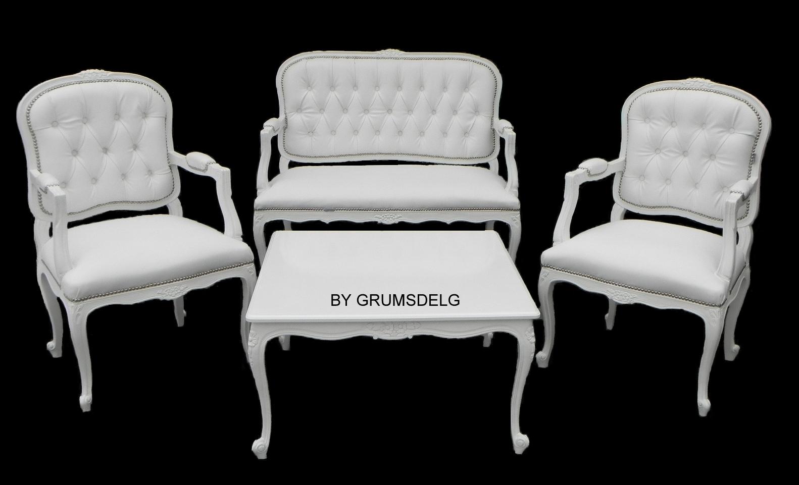 Grumsdelg interiores living luis xv ideal para decoraci n for Tresillos modernos