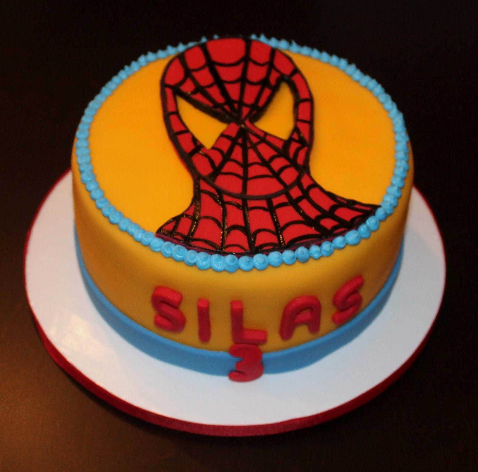 Creative Cakes By Lynn Spiderman Cake Gf Egg Free Dairy Free