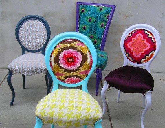 sillas vintage modernizadas