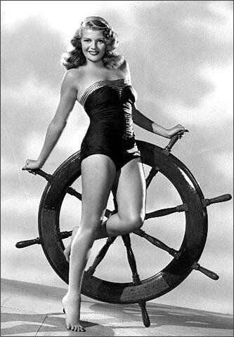 Rita Hayworth, pin-up di altri tempi