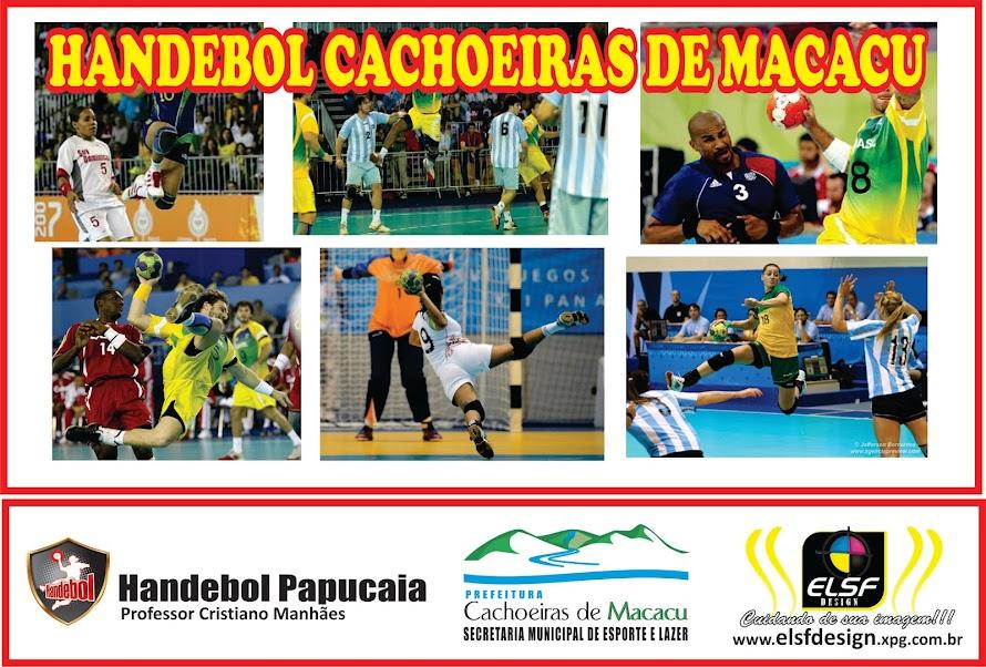 HANDEBOL DE CACHOEIRAS DE MACACU