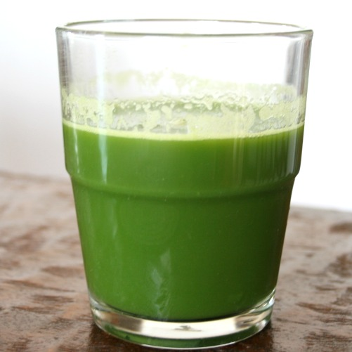 Morning Green Juice & Using Your MIXER As a Juicer