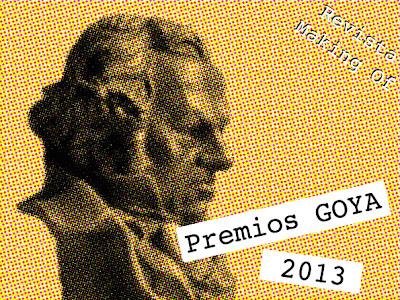 Cambio de ubicación de la celebración de los Goya 2013. Revista Making Of. Cine