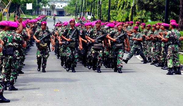 Marinir TNI AL. PROKIMAL ONLINE Kotabumi Lampung Utara