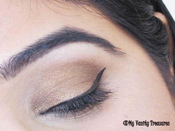 Bronze Smokey Eyes Makeup