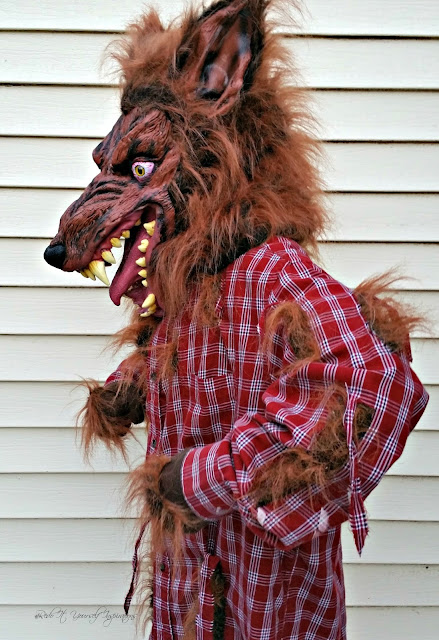 Easy diy werewolf costume redo it yourself inspirations easy diy i solutioingenieria Choice Image