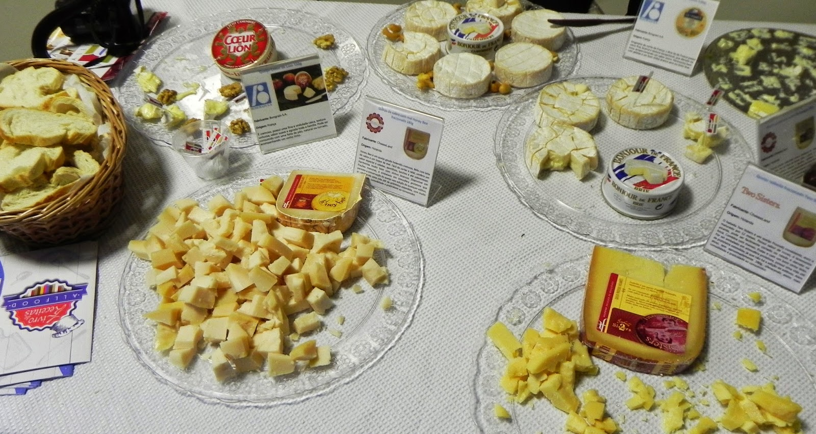 produtos all food no stand encontro gourmet