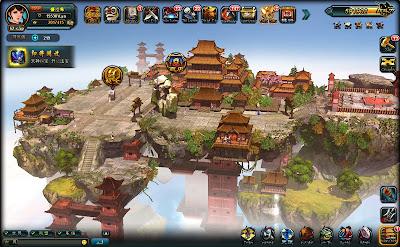 Game chiến thuật 3D Tướng Thần ngoài các chức năng thông thường của một game chiến thuật kinh điển như như bài binh bố trận