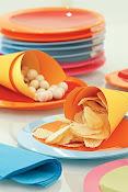 ideia de como servir salgadinhos prontos!!!