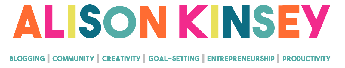 Alison Kinsey | Creative Entrepreneur Lifestyle Blog