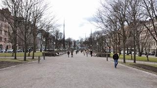 Parque de la Esplanada en Helsinki