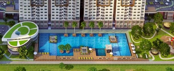 Tổng thể hồ bơi căn hộ Park Residence