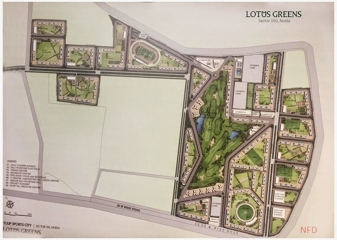 lotus greens new residential projects sector  noida no frills
