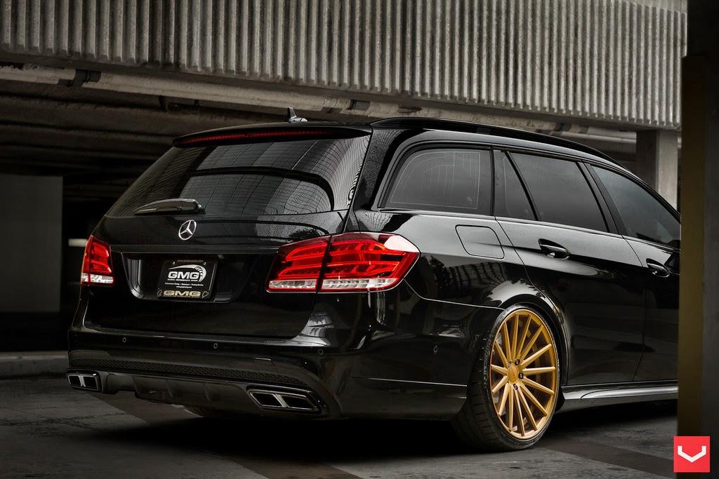 """Brabus G Wagon >> Mercedes-Benz E63 S AMG Estate on 20"""" Vossen VFS2   BENZTUNING"""