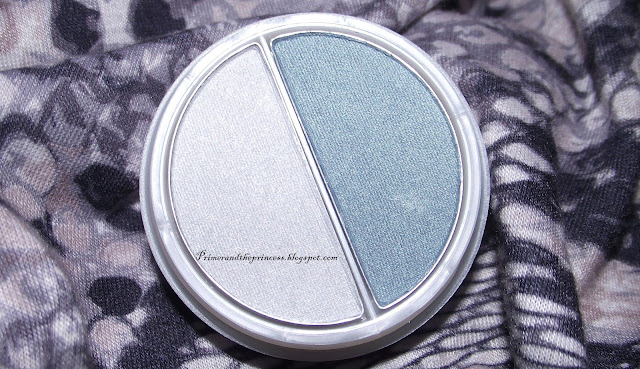 Natural Collection Duo Eyeshadow Review - Frost Shimmer/ Aqua Shimmer
