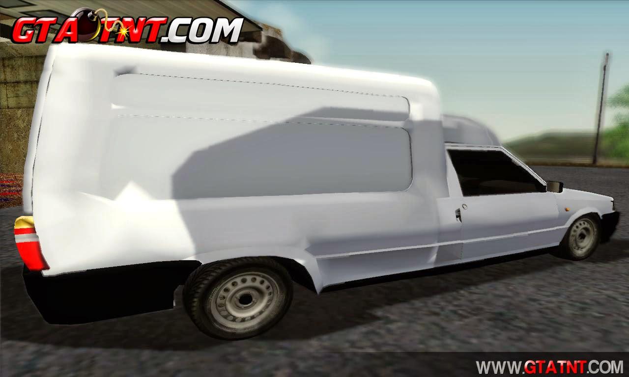 Fiat Fiorino Fire 2007 para GTA San Andreas